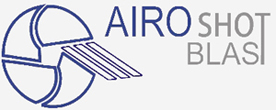logo of airo shot blast